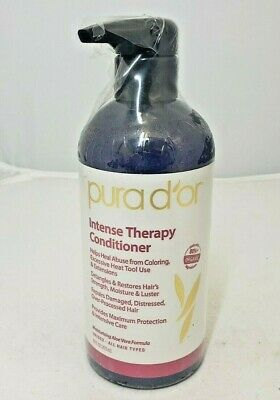 Pura Dor, Intense Therapy Conditioner, 16 fl oz (473 ml) For Damaged Hair