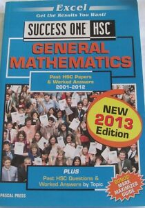 Hsc past papers 2011 general mathematics
