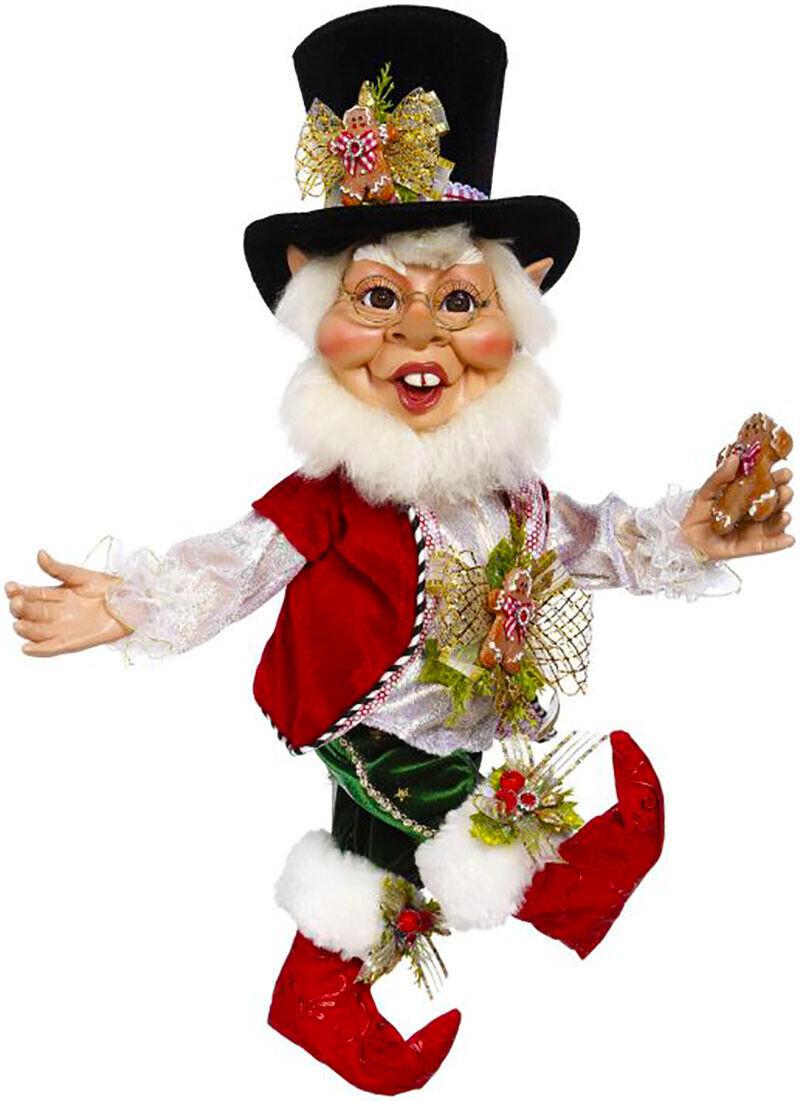"[Mark Roberts Elves - Cookies & Milk Elf 51-05578 Medium 20"" Figurine </Title]"