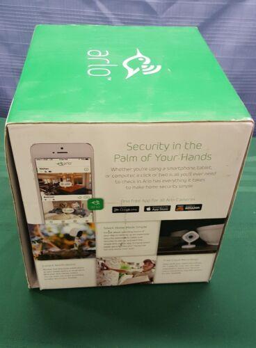 Netgear Arlo Smart Home Security System - 2 HD Wire-Free Cameras+Arlo Q cam B01