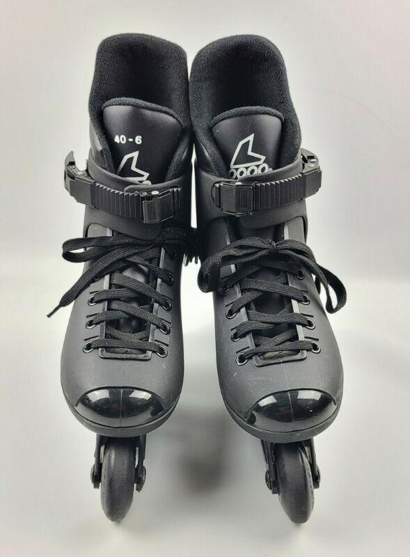Vtg Rollerblade Lightning 1990 Inline Skate All Black Men