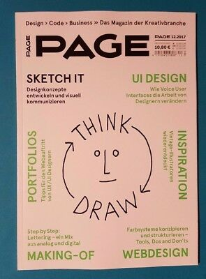 Page 12/2017  Design/Code/Business/Kreativbranche ungelesen 1aAabsolut TOP