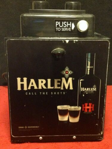 RARE Harlem Herbal Liqueur Bar Portable Call the Shot Chiller Machine Jager Cold