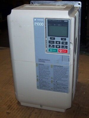 Yaskawa 25 Hp Ac Vfd Variable Frequency Drive 480 Vac Cimr-pu4a0038faa