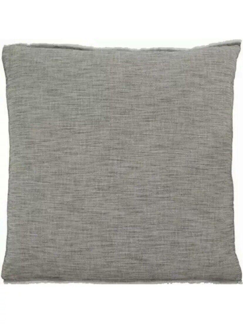Ellen Degeneres Euro European Sham Set of 2 Pillow Case Grey Belmont Natural Bedding