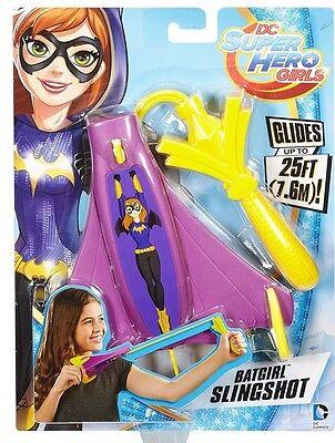 DC Comics: Super Hero Girls ~ Purple Flying Batgirl Slingshot Glides 25FT - New](Batgirl Feet)