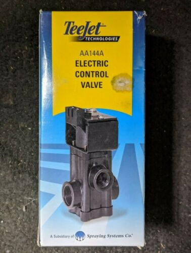 Spraying Systems TeeJet Electric Control Valve AA144A BRAND NEW