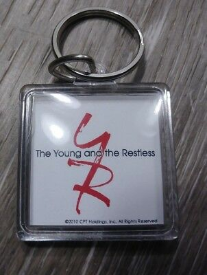 Plastic Keychains (Young and the Restless Acrylic Plastic CBS Keychain)
