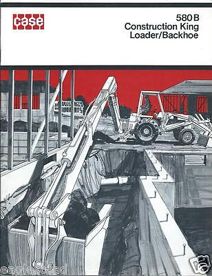 Equipment Brochure - Case - 580 B - Construction King Loader Et Al C1971 E2137