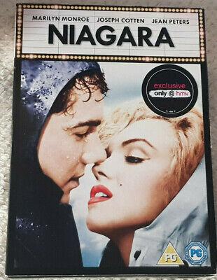 DVD Niagara [DVD] Monroe (1953) HMV Exclusive NEW & Sealed