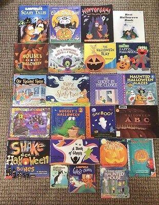 Halloween Children Books (Lot of 23 HALLOWEEN Children's Picture Books SCHOLASTIC Teacher Class)