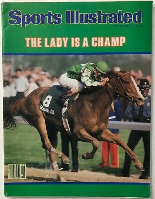 1980 Sports Illustrated Magazine - THE LADY IS A CHAMP May 12, 1980 Sports Illustrated Magazine - NO LABEL