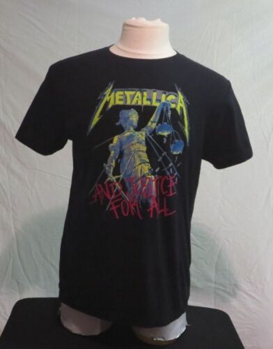 METALLICA  and justice for all! T-SHIRT LARGE Rock and Roll Metal Rock