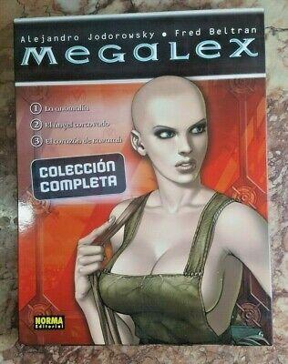 Megalex, colección completa 3 tomos con estuche.
