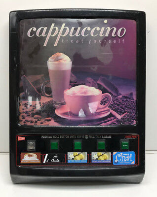 Cecilware Gb5k 5-head Automatic Cappuccino Machine Door Panel Used As Is