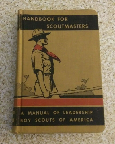 1943 Handbook For Scoutmasters Volume 2 -nice condition