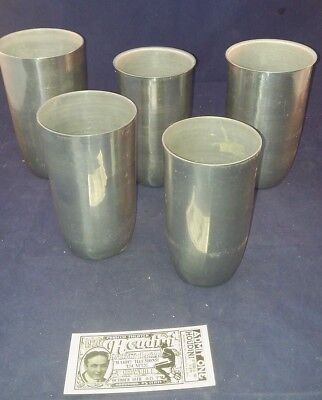 - Hindu Water Vases Magic Trick Herb Morrissey Products Made in Canada Aluminum