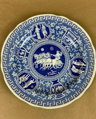 SPODE BLUE ROOM COLLECTION TRADITIONS SERIES GREEK SCALLOPED