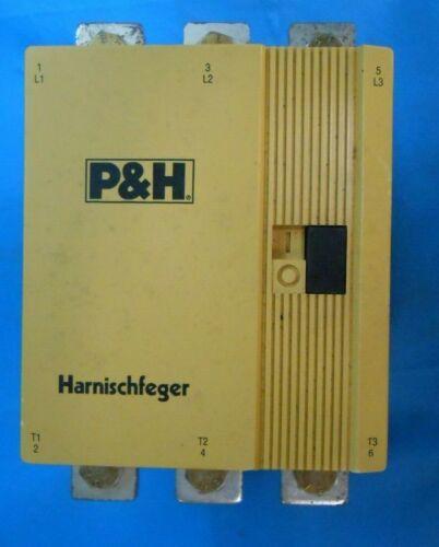 HARNISCHFEGER 79Q1171-D1 250 A CONTACTOR 200 HP P AND H