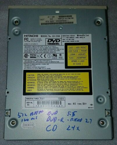 Hitachi GD-2500 Internal DVD Drive