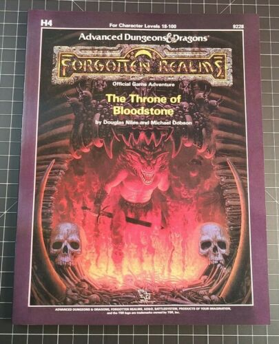 H4 The Throne of Bloodstone - Forgotten Realms