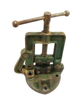 Hollands 402-b Bench Mount Pipe Vise Erie Pa Usa