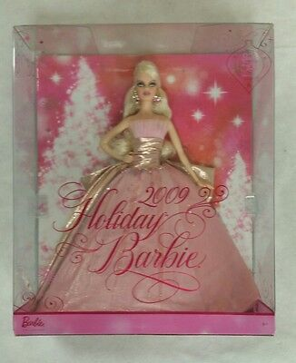 NRFB Mattel 50th Anniversary 2009 Holiday Barbie Doll