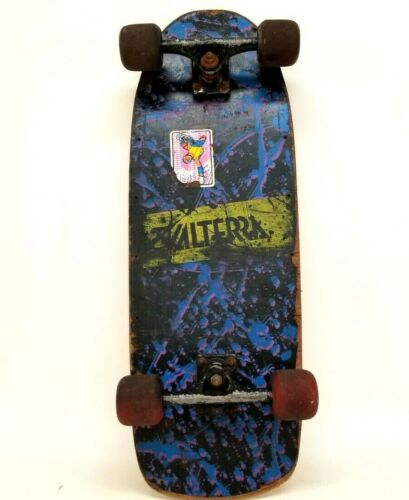 Original Vintage BACK TO THE FUTURE 80's Valterra Skateboard Marty McFly