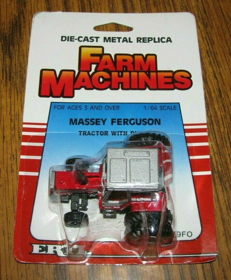 *Ertl 1/64 Massey Ferguson MF 699 Tractor w/ DUALS 1986 Farm Machines Toy #1129