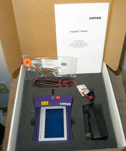 Lonza 57025 Flash Gel Dock Electrophoresis system-New Open box