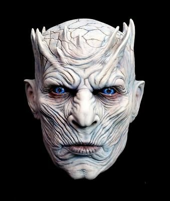 Games Of Halloween (Game of Thrones Night King Mask Officially Licensed Halloween Trick or Treat)