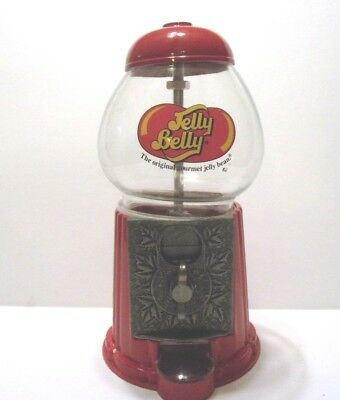 "Vintage Jelly Belly ""The original Gourmet Jelly Bean"" Dispenser Cast Aluminum"