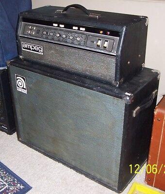 1977 Ampeg B-25B amplifier  tube amp head  Good condition used   B 25 B