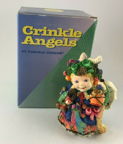 Crinkle Angels 659400 Angel With Lantern 1996 NEW