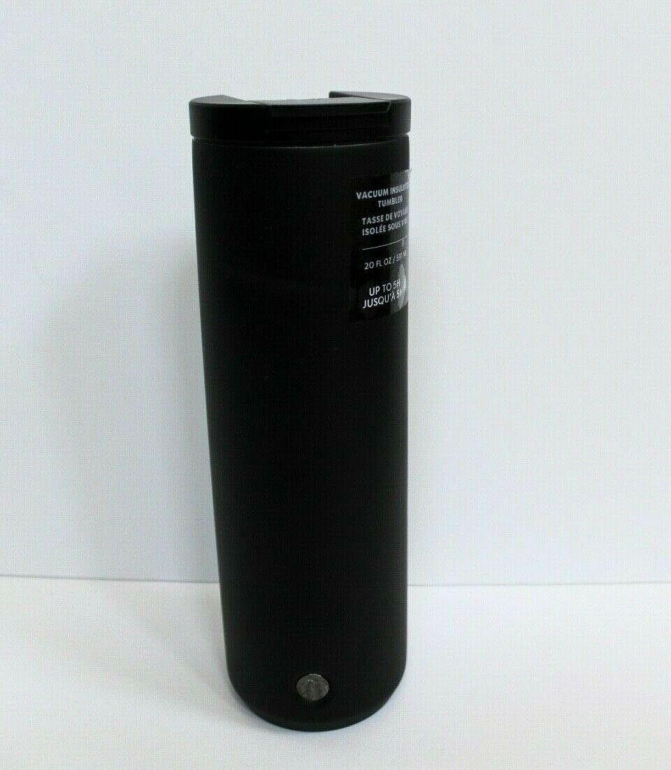 Starbucks 2020 Matte Black Stainless Steel Vacuum Insulated