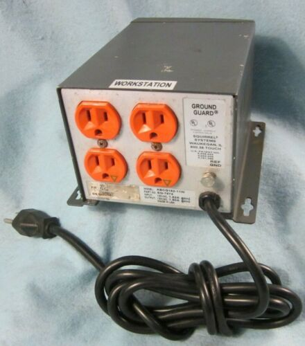 SQUIRREL SYSTEMS GROUND GUARD ABCG152-11W 4 OUTLET