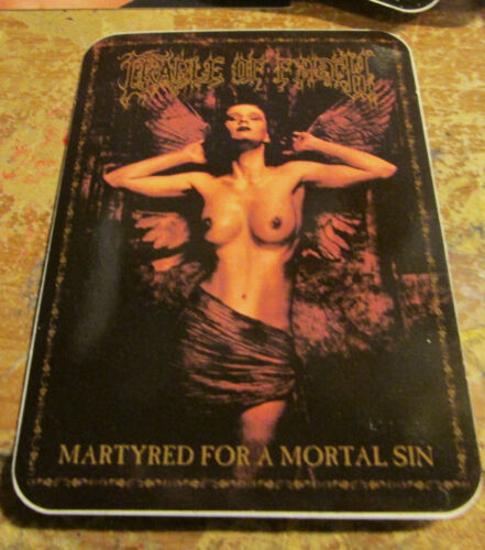 CRADLE OF FILTH STICKER COLLECTIBLE RARE VINTAGE 90