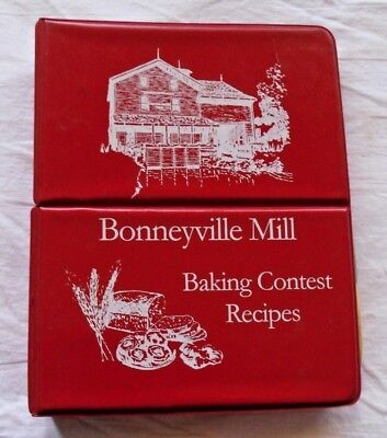 (1999 COOKBOOK BONNEYVILLE MILL BAKING CONTEST RECIPES BREADS CAKES ELKHART CO IN)