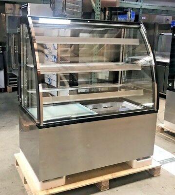 New 48 Bakery Deli Refrigerator Model Arc-371y Cooler Case Display Fridge Nsf