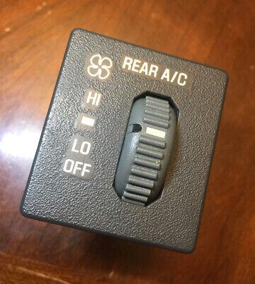 1996-2005 Chevy Astro GMC Safari OEM Rear A/C Switch Button Module 15978864
