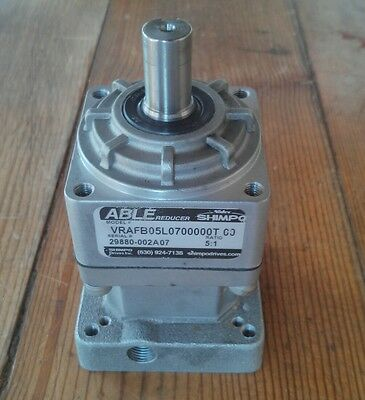 51 Ratio Shimpo Able Reducer Gearhead Vrafb 05 L
