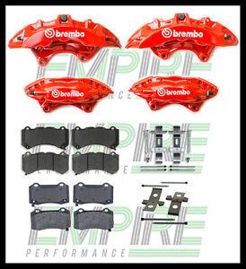 VE VF HSV FRONT AND REAR BREMBO BRAKE UPGRADE 6 Piston front 4 Piston rear