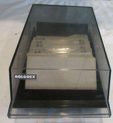 Rolodex Business Card File Box Cbc-200