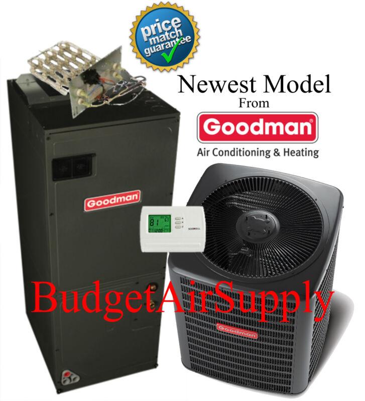 1.5 Ton 14 Seer Heat Pump 410a Goodman System Gsz140181+aruf25b14 New Model!