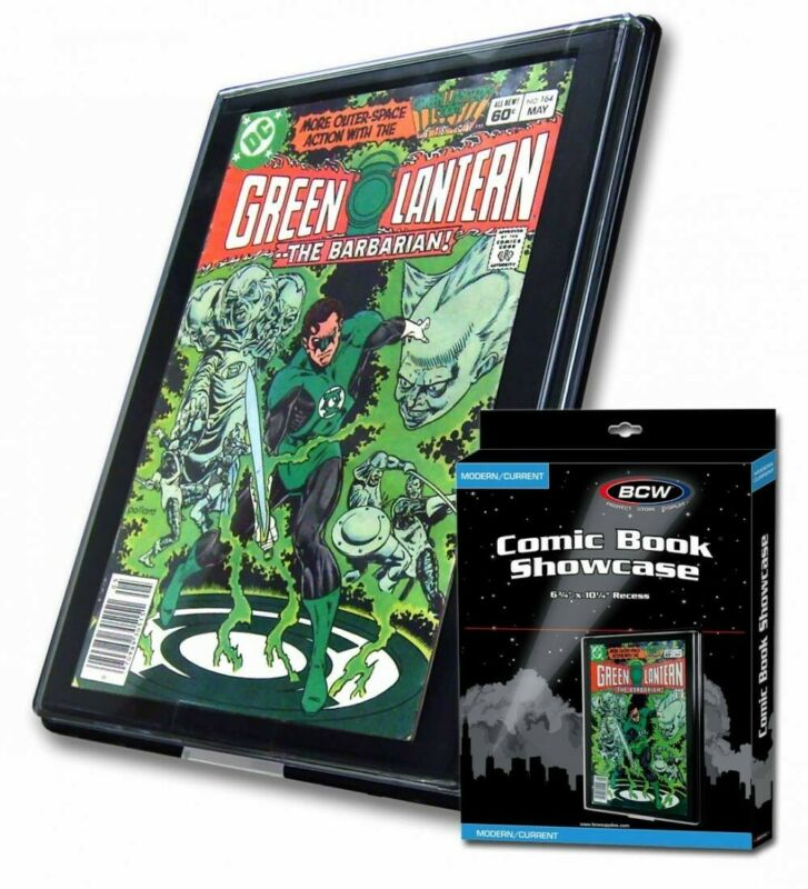 BCW Wall Display Frame For 1 Current Modern Comic Book Showcase 6.75x10.25 NEW