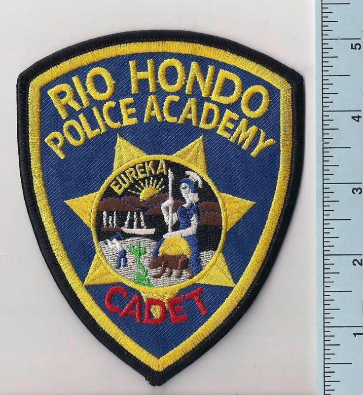 Rio Hondo Police Academy Cadet Recruit Shoulder Patch, Whittier California, New