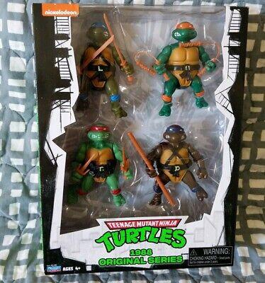 TMNT Classics Series 1988 Cartoon Donatello Leonardo Raphael Mikey Ninja Turtles