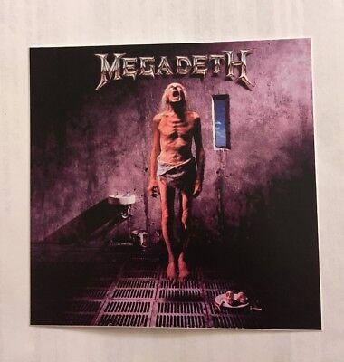 Наклейки и рисунки Megadeth Sticker