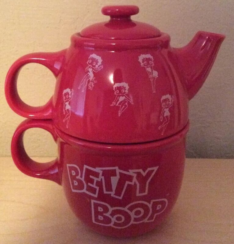 Collectable Betty Boop Ceramic Tea For One - NEW Teapot