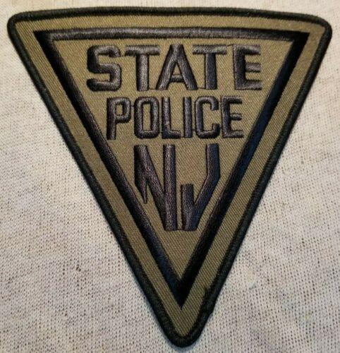 NJ New Jersey State Police Patch